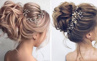 Updo-Hairstyles-for-Long-Medium-Hair-in-2019-Updo-Wedding-Hairstyle-Trends-for-Women-1