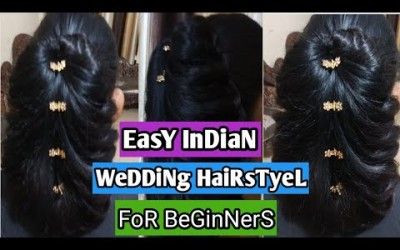 Wedding-Hairstyle-For-Medium-To-Long-Hair-Fishtail-Braid-Hairstyle-For-Indian-Wedding-Occassions