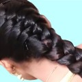 Wedding-guest-hairstyles-in-just-2-minutes-Beautiful-hairstyles-for-long-hair-hair-style-girl