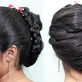 easy-french-roll-hairstyle-using-banana-clutcher-french-bun-summer-special-hairstyles