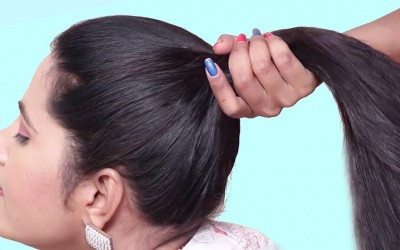 3-Easy-Everyday-Hairstyles-for-Women-Latest-Hairstyles-for-partyfunctionwork-Hair-style-girl