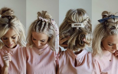 4-Half-Up-Styles-for-SHORT-HAIR-w-Hair-Accessories