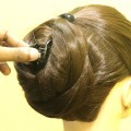 4-Type-of-Updo-Hairstyle-High-Ponytail-with-Bun-Juda-Hairstyles-High-Bun-Juda-KGS-Hairstyle