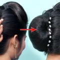 Beautiful-Wedding-Bun-Hairstyle-With-Puff-For-Long-HairEasy-Puff-HairstylesPerfect-puff-hairstyles