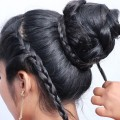 Easy-Bridal-Hairstyle-For-Girls-With-Long-Hair-Fast-and-Easy-Bridal-Bun-Hairstyle-for-Wedding