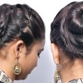 Easy-Bun-Hairstyles-with-Trick-for-Wedding-and-party-Prom-Updo-Hairstyle-Bun-Hairstyles