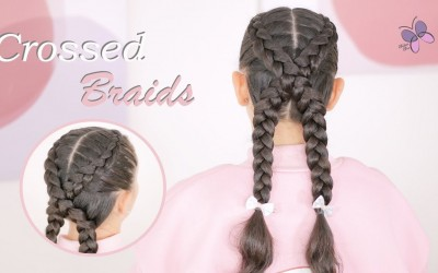 Everyday-Hairstyle-for-Long-Hair-Crossed-Braids-Hairstyles-for-Girls-Braided-Hairstyles