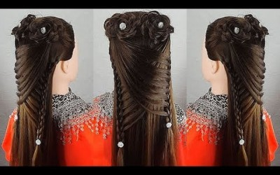 Great-party-hairstyle-How-to-make-prom-hairstyles-Bridal-hairstyle-for-long-hair-2020