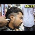 Mens-New-short-haircut-transformation-for-2019-indian-Men-hairstyles-1