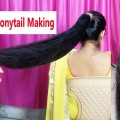 New-High-Puff-Ponytail-Hairstyles-Easy-ponytails-for-School-College-Work-Long-Ponytail