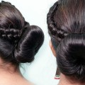 Party-Special-Bun-Hairstyle-For-Girls-Easy-And-Beautiful-Hairstyles-For-Women-Bun-Hairstyles