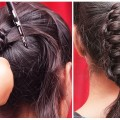 Quick-Easy-Knotted-Ponytail-Hairstyle-Ladies-Fashion