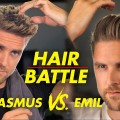 Quiff-hairstyle-vs-Slickback-Mens-hair-2019-Revolution