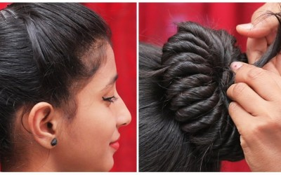 Rope-Bun-Hairstyle-How-to-Create-a-Rope-Bun-Prom-Hairstyles-Ladies-Fashion