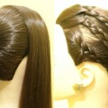 Simple-Easy-Juda-Hairstyle-Bun-Updo-Hairstyle-Side-Braided-Hairstyle-KGS-Hairstyles