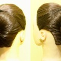 Simple-Updo-Hairstyle-using-Hair-Clutcher-High-Bun-Juda-Hairstyle-New-Hairstyles-KGS-Hairstyles