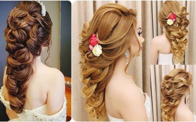 Stylish-And-Beautiful-Bridal-Hairstyles-And-Party-Hairstyl-For-Girls-And-Women