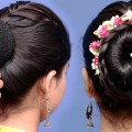 new-bun-hairstyle-for-wedding-and-party-trending-hairstyle-party-hairstyle-bun-hairstyles