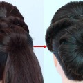 new-latest-bun-hairstyle-for-wedding-guest-bridal-hairstyle-wedding-hairstyles-party-hairstyle