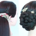 side-bun-hairstyle-for-wedding-and-party-updo-hairstyle-new-hairstyle-cute-hairstyles