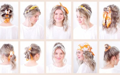 10-Easy-Summer-Hairstyles-with-Bandana-Headband-Milabu