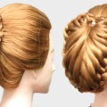2-Easy-Bun-Hairstyles-with-Trick-for-Partywedding-prom-Updo-Hairstyle-Easy-Hairstyles