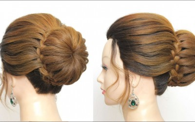 Braided-Bun-Updo-Hairstyle-For-Long-Hair-Tutorial