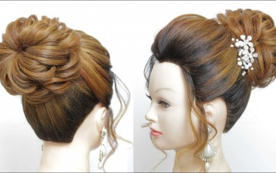 Bridal-Bun-Updo-Hairstyle-For-Long-Hair-Tutorial