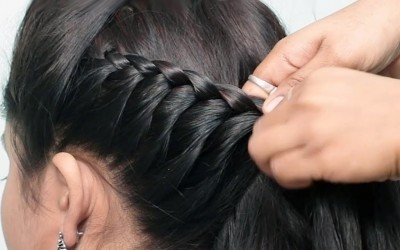 Easy-and-Beautiful-hairstyle-for-wedding-or-party-trending-hairstyle-party-hairstyle-2019