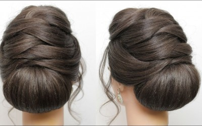 Low-Bun-Updo.-Bridal-Prom-Hairstyle-For-Long-Hair