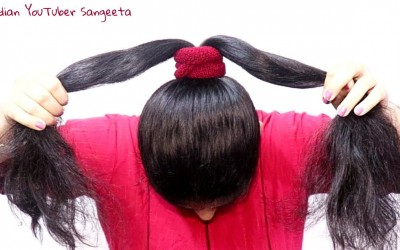 New-Easy-juda-hairstyle-with-gajra-simple-hairstyle-cute-hairstyle-hairstyle-for-girls