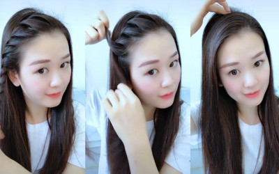 TOP-10-Braided-Hairstyle-Personalities-for-School-Girls-Transformation-Hairstyle-Tutorial-Part-5