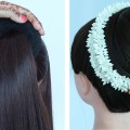 how-to-make-big-bun-hairstyle-with-trick-new-hairstyle-ladies-hairstyle-prom-hairstyles