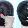 khajuri-style-juda-hairstyle-for-gown-lehnga-party-hairstyles-for-girls-wedding-hairstyles