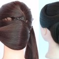 new-french-bun-hairstyle-for-party-and-weddings-chignon-hairstyle-elegant-updo-hairstyle