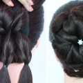 new-juda-hairstyle-for-party-function-and-weddings-juda-hairstyle-trick-wedding-guest-hairstyle