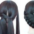 new-latest-hairstyle-for-party-wedding-with-trick-cute-hairstyles-bun-hairstyles-hairstyle