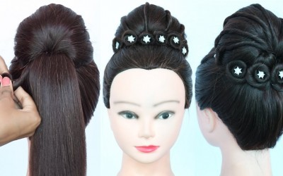 new-latest-queen-hairstyle-for-party-wedding-gown-hairstyle-bridal-hairstyle-prom-hairstyle