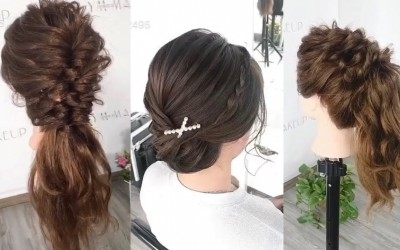 Cute-Short-and-Long-Hairstyles-Tutorials-for-party-in-2019