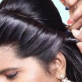 Easy-bun-Hairstyles-Wedding-guest-hairstyle-for-girls-Quick-hairstyle-for-partywedding