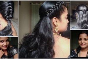 5-Easy-saree-hairstylesfor-working-womens-collage-girls-house-wifes-no-tools-need.