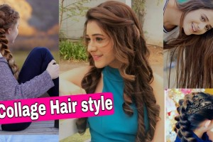 Stylish-Collage-Hair-style-for-Girls-2019-Beautiful-hair-style-for-Womens