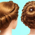 bridal-bun-hairstyle-for-short-hair-hairstyles-for-girls-easy-hairstyles-simple-hairstyle