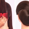 very-easy-hairstyle-with-using-clutcher-try-on-hairstyle-simple-hairstyles-clutcher-hairstyle