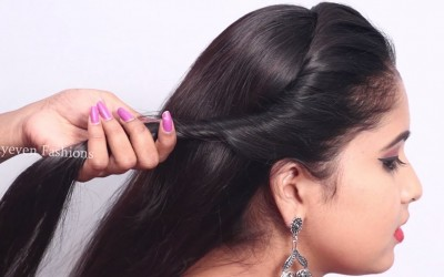 wedding-guest-for-long-hair-hairstyle-2019-for-ladies-Easy-hairstyle-hair-style-girl