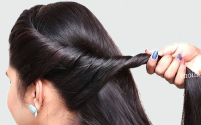 3-easy-Puff-Hairstyles-With-ClutcherHair-Puff-ponytail-bun-quick-hairstyles-2019