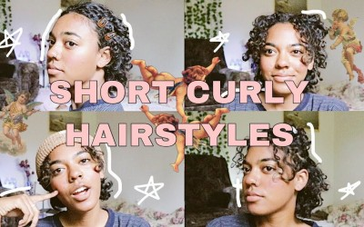 7-Hairstyles-For-SHORT-CURLY-HAIR