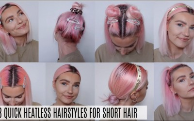 8-QUICK-HEATLESS-HAIRSTYLES-FOR-SHORT-HAIR-BACK-TO-SCHOOL-WORK-LoveFings
