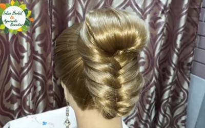 A-Beautiful-Hairstyle-for-GirlsWomen.Hairstyles-for-PartyWeddingsReceptions