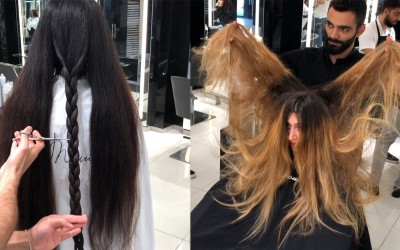 Best-Hairstyles-Tutorials-by-Mounir-Salon-New-Hair-Color-Transformations-2019
